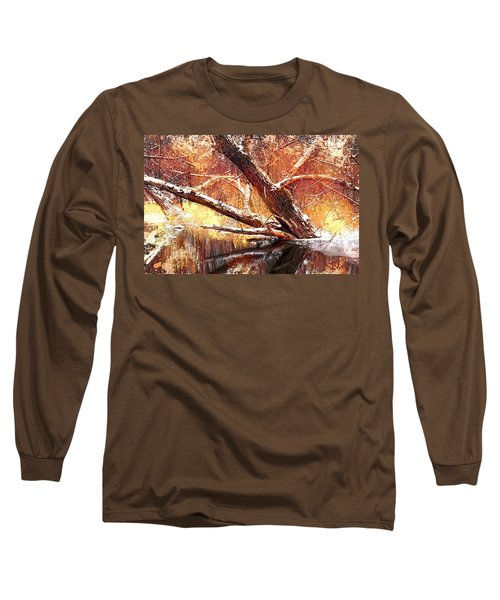 Cordukes Creek  Long Sleeve T-Shirt by Jim Vance