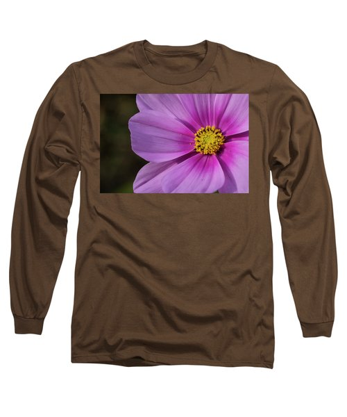 Long Sleeve T-Shirt featuring the photograph Cosmos by Elvira Butler