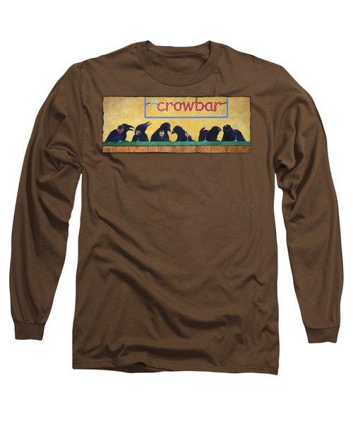Crowbar Long Sleeve T-Shirt by Will Bullas