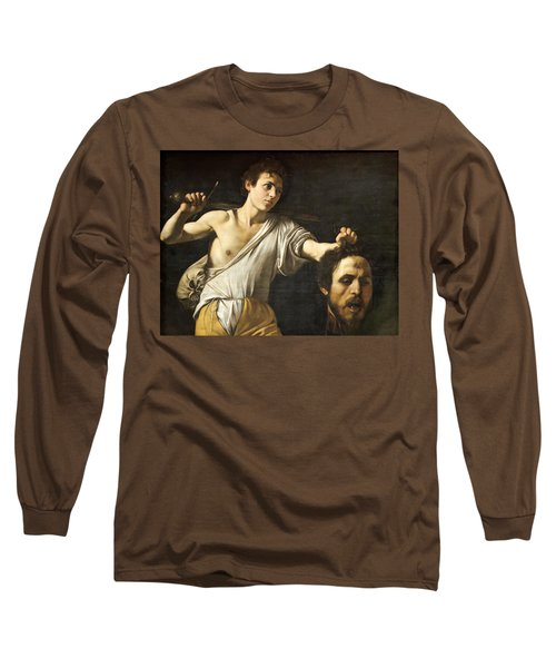 David With The Head Of Goliath Long Sleeve T-Shirt