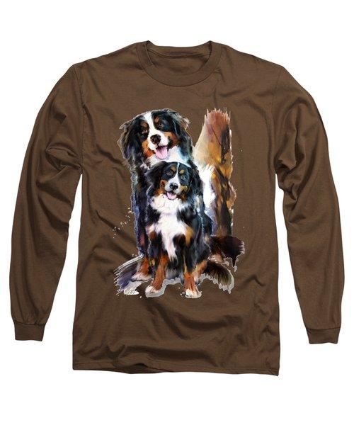 Dog Family Long Sleeve T-Shirt