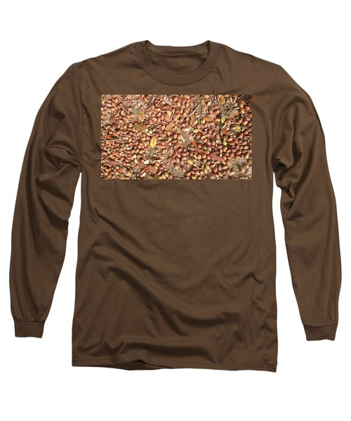 Donguri Means Acorn  Long Sleeve T-Shirt