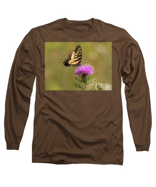 Eastern Tiger Swallowtail Long Sleeve T-Shirt