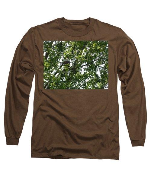 Face The Eagle Long Sleeve T-Shirt