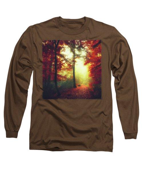 Fall Forest Mood Long Sleeve T-Shirt