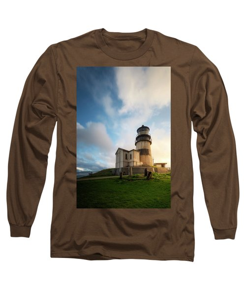 Long Sleeve T-Shirt featuring the photograph First Light by Ryan Manuel