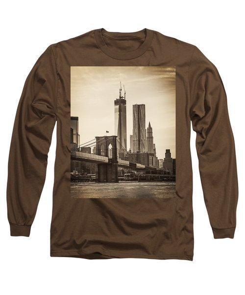Freedom Tower Rising Long Sleeve T-Shirt