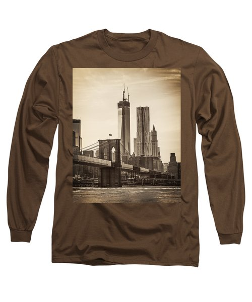 Freedom Tower Rising Long Sleeve T-Shirt