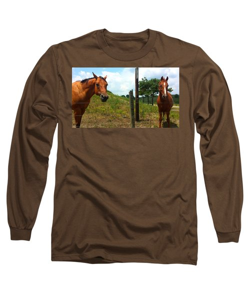 Friendly Stallions Long Sleeve T-Shirt