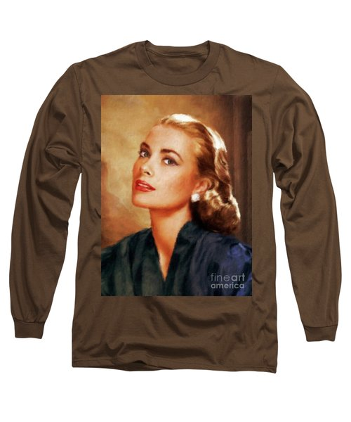 Grace Kelly, Actress And Princess Long Sleeve T-Shirt