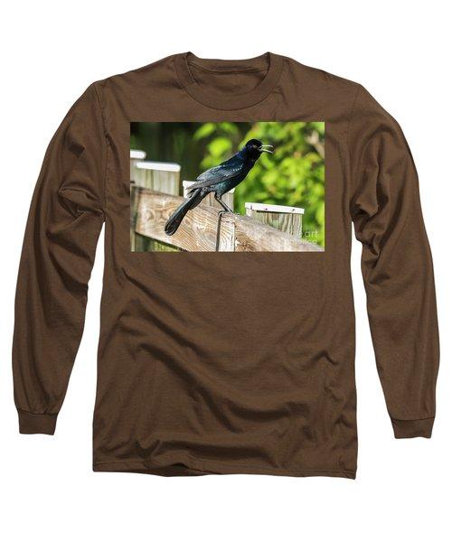 Grackle Long Sleeve T-Shirt