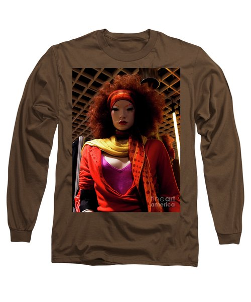 Colored Girl Long Sleeve T-Shirt