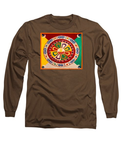 Happiness And Inner Peace Long Sleeve T-Shirt