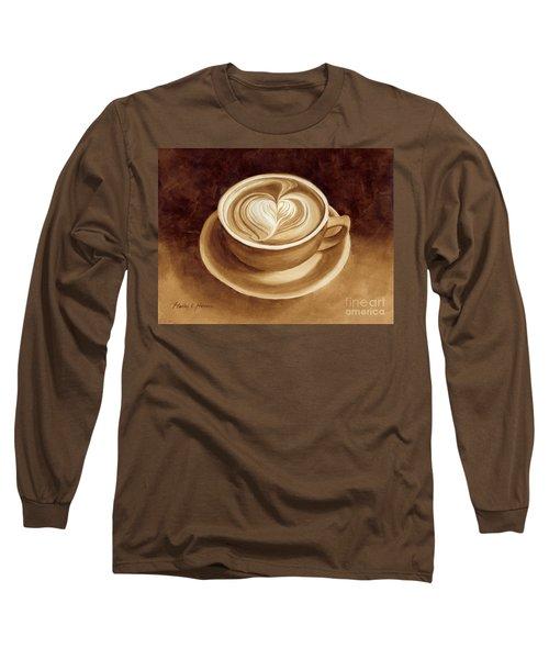 Heart Latte II Long Sleeve T-Shirt