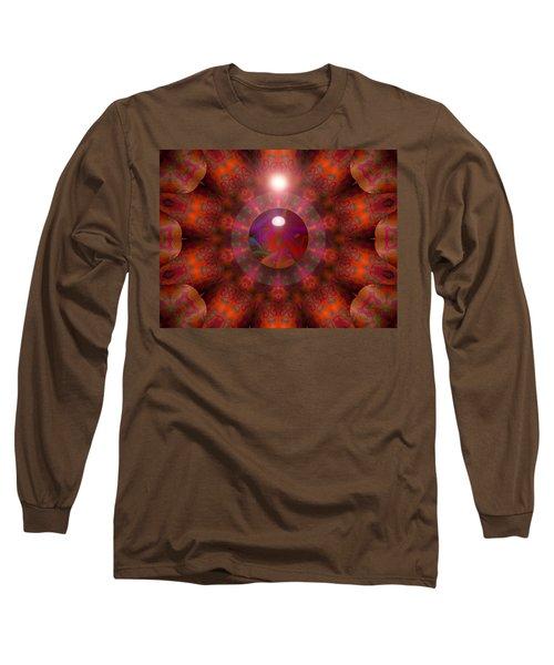 Long Sleeve T-Shirt featuring the digital art Hold On by Robert Orinski