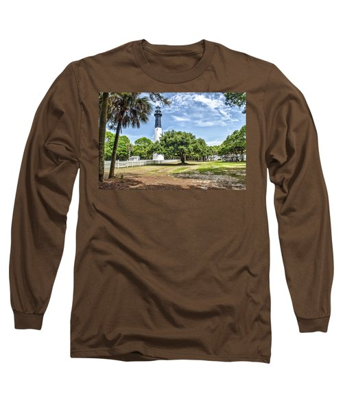 Hunting Island Lighthouse Long Sleeve T-Shirt