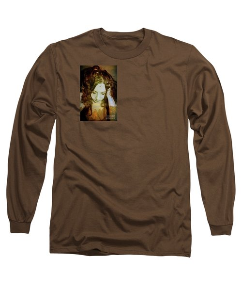 I Want To Believe Long Sleeve T-Shirt by Heather King