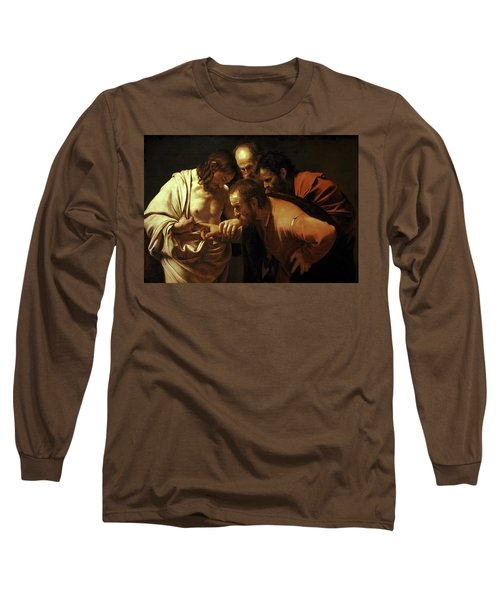 Incredulity Of Saint Thomas Long Sleeve T-Shirt