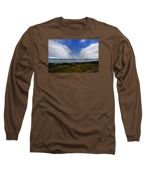 Irish Sky - Ring Of Kerry, Dingle Bay Long Sleeve T-Shirt