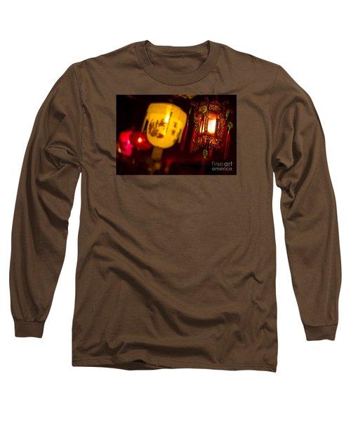 Japanese Lanterns 6 Long Sleeve T-Shirt
