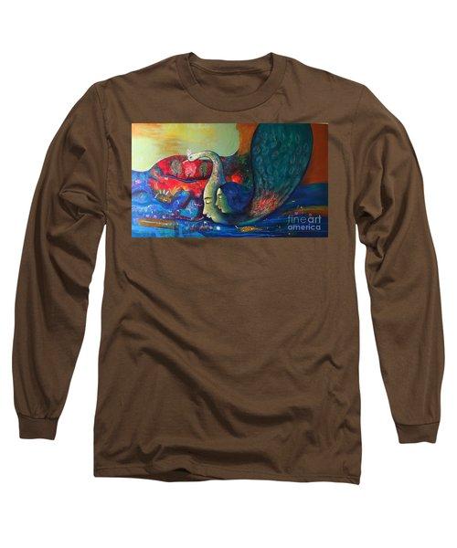 Life Long Sleeve T-Shirt by Sanjay Punekar