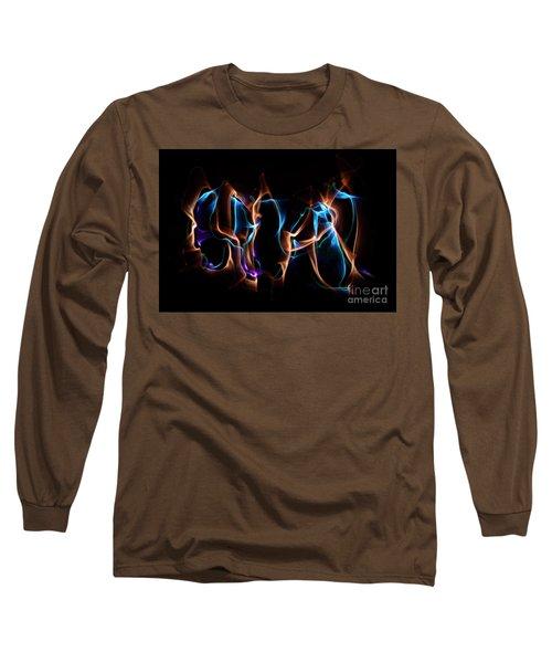 Light Grafitti Long Sleeve T-Shirt