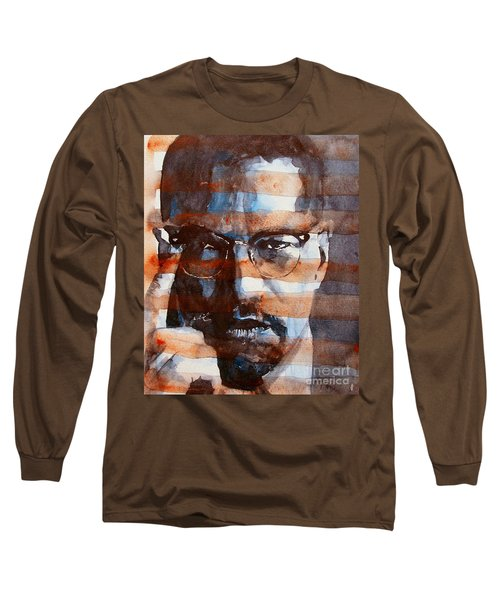 Malcolmx Long Sleeve T-Shirt