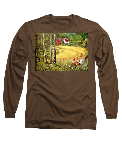 Memories For Mom Long Sleeve T-Shirt by Marilyn Smith
