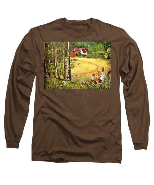 Memories For Mom Long Sleeve T-Shirt