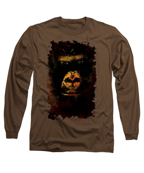 Mighty Gorilla Long Sleeve T-Shirt