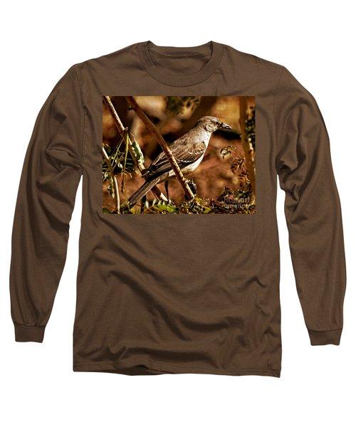 Mockingbird Long Sleeve T-Shirt by Robert Bales