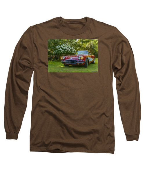 My 1960 Corvette Long Sleeve T-Shirt by Ken Morris
