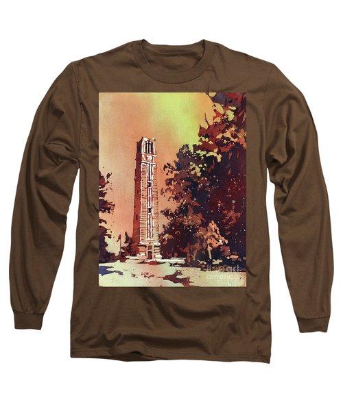 Ncsu Bell-tower Long Sleeve T-Shirt