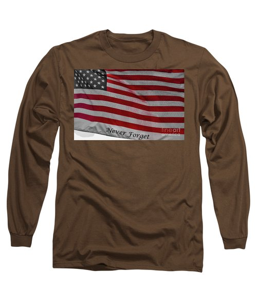 Never Forget Long Sleeve T-Shirt by Jim Lepard