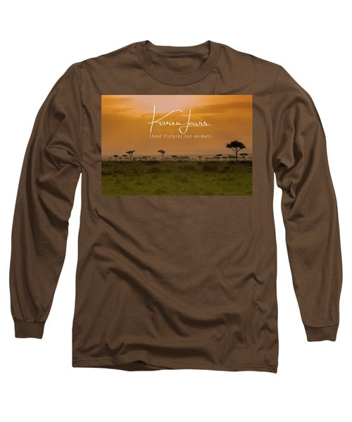 Long Sleeve T-Shirt featuring the photograph New Day On The Mara by Karen Lewis