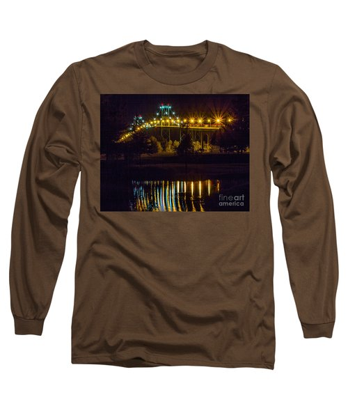 Night Reflections Long Sleeve T-Shirt