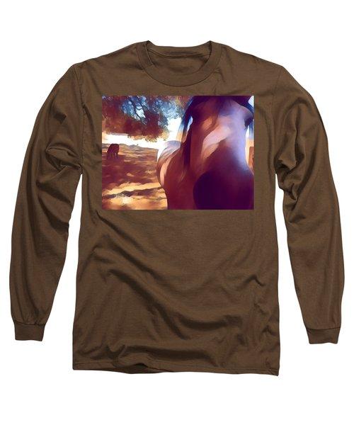 Nosey Belle Long Sleeve T-Shirt
