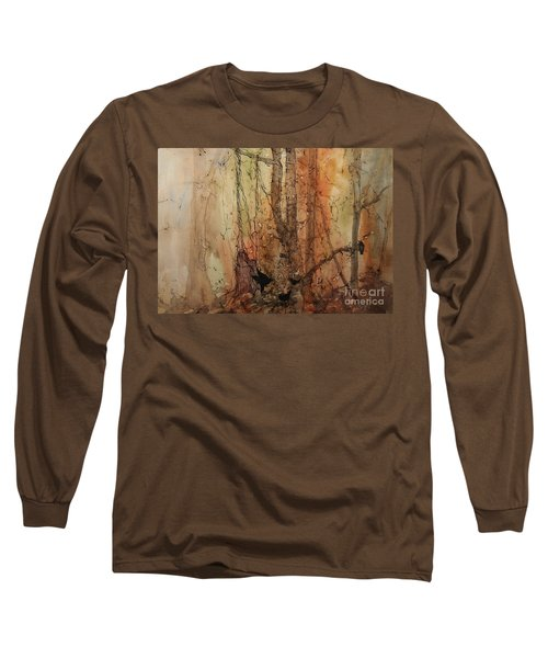 on the Verge Long Sleeve T-Shirt by Elizabeth Carr
