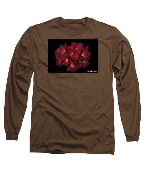 Orchid Floral Arrangement Long Sleeve T-Shirt