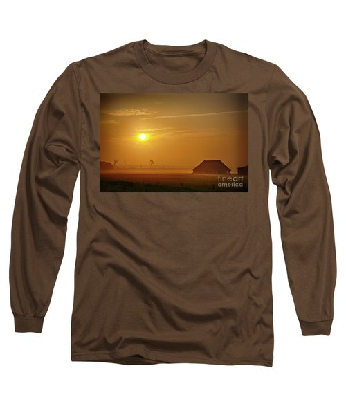 Outer Banks Memories 3 Long Sleeve T-Shirt by Dan Carmichael