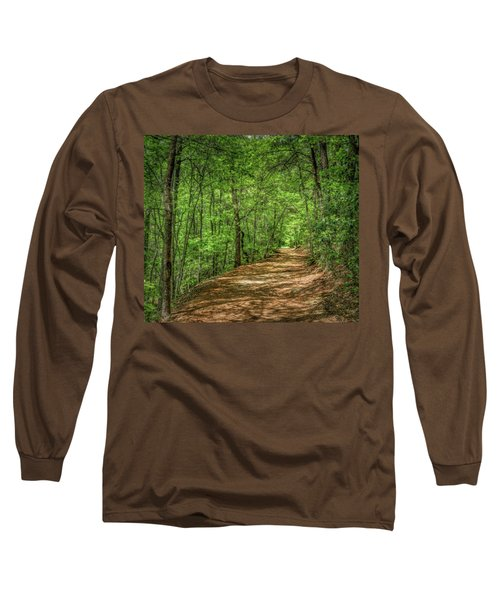 Path Less Travelled - Impressionist Long Sleeve T-Shirt