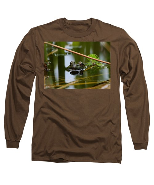 Peek-a-boo Long Sleeve T-Shirt