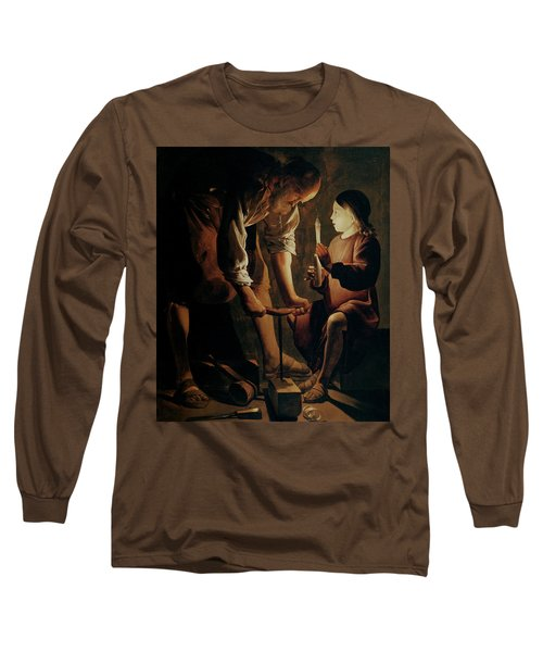 Saint Joseph The Carpenter  Long Sleeve T-Shirt