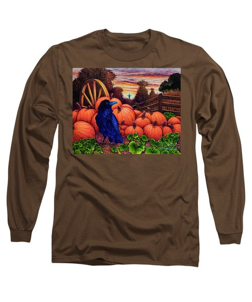 Scarecrow Long Sleeve T-Shirt by Michael Frank