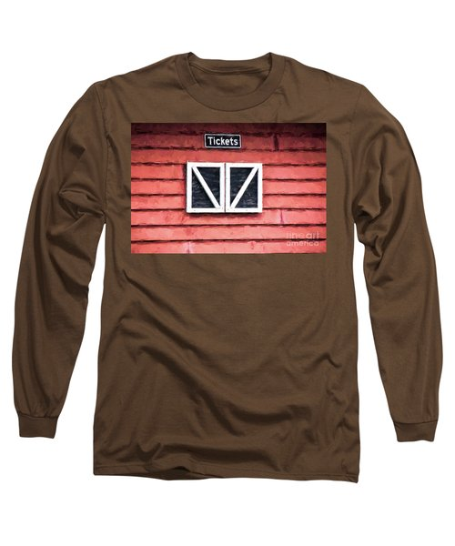 Long Sleeve T-Shirt featuring the photograph Season's Over by Laurinda Bowling