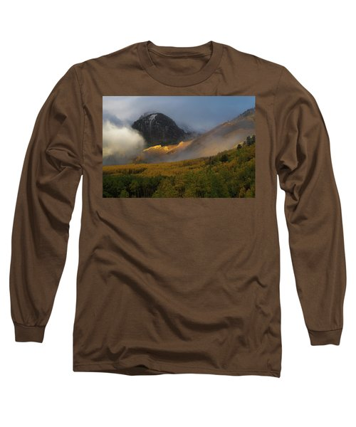 Long Sleeve T-Shirt featuring the photograph Siever's Mountain by Steve Stuller