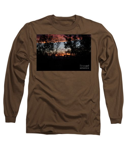 Spectacular Sky Long Sleeve T-Shirt by Anne Rodkin