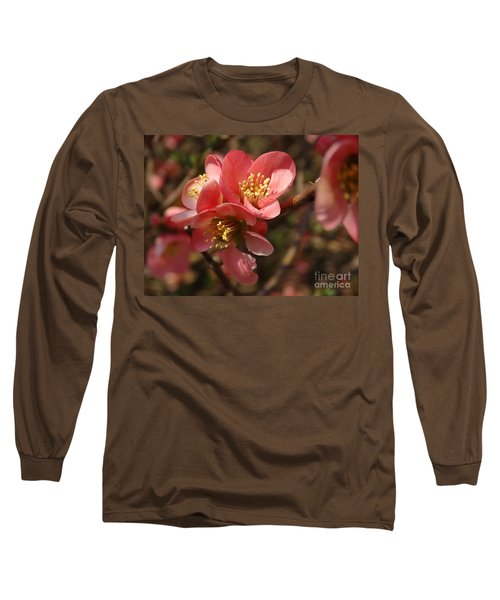 Spring Blooms Long Sleeve T-Shirt by Rebecca Overton
