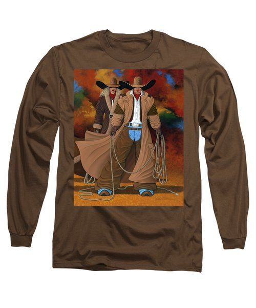 Stand By Your Man Long Sleeve T-Shirt by Lance Headlee