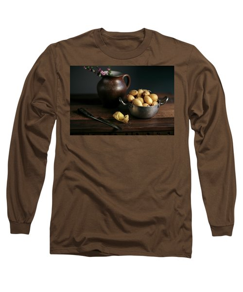Still Life With Potatoes Long Sleeve T-Shirt